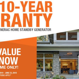 Generac to Incentivize Homeowners Who Plan Ahead with Extended Warranty