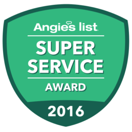 Grasten Power Technologies Earns Esteemed 2016 Angie's List Super Service Award