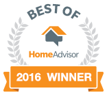 Best of Home Advisor 2016 Recipient