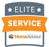 Recipient of the Home Advisor Elite Service Award